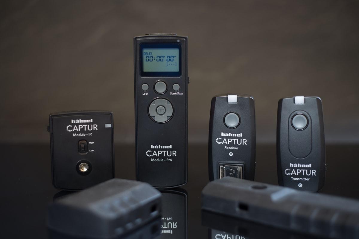 Funkauslöser Hähnel Captur mit Sender und Empfänger und Pro-Modul